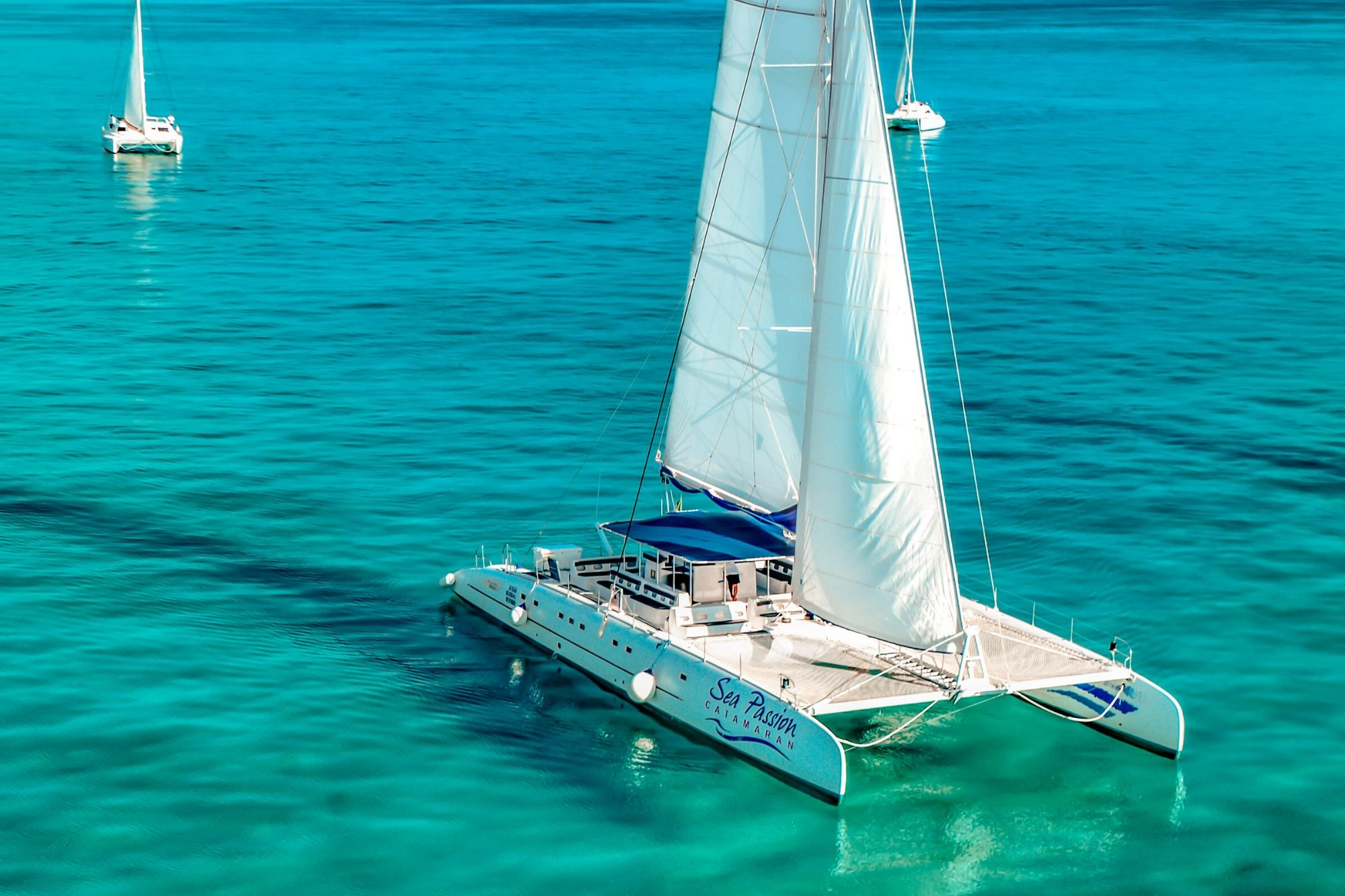 2 - HiRes - Private Isla Mujeres tour in catamaran - Sea Passion I II - Cancun Sailing