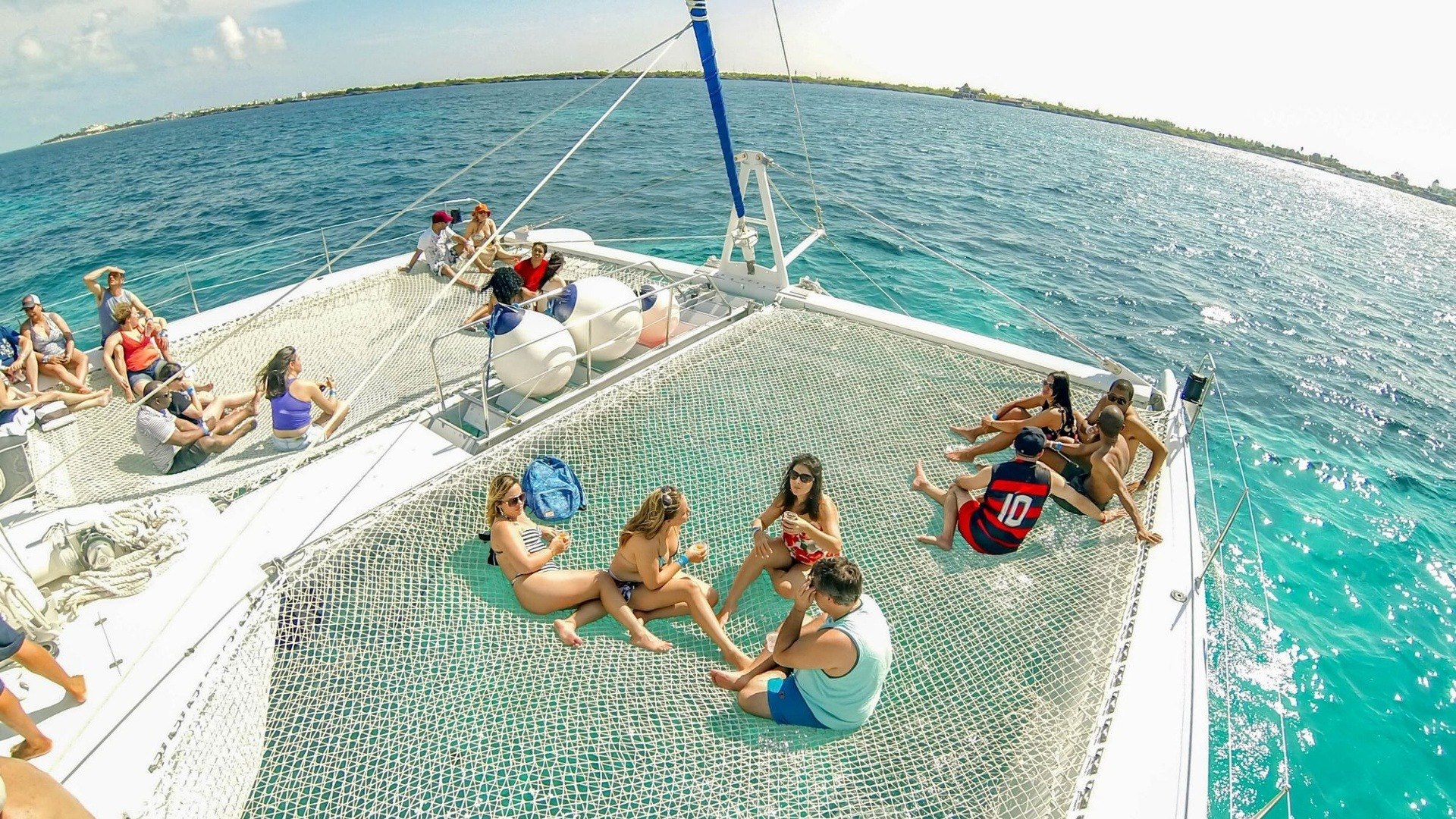 4 - LowRes - Private Isla Mujeres tour in catamaran - Sea Passion I II - Cancun Sailing