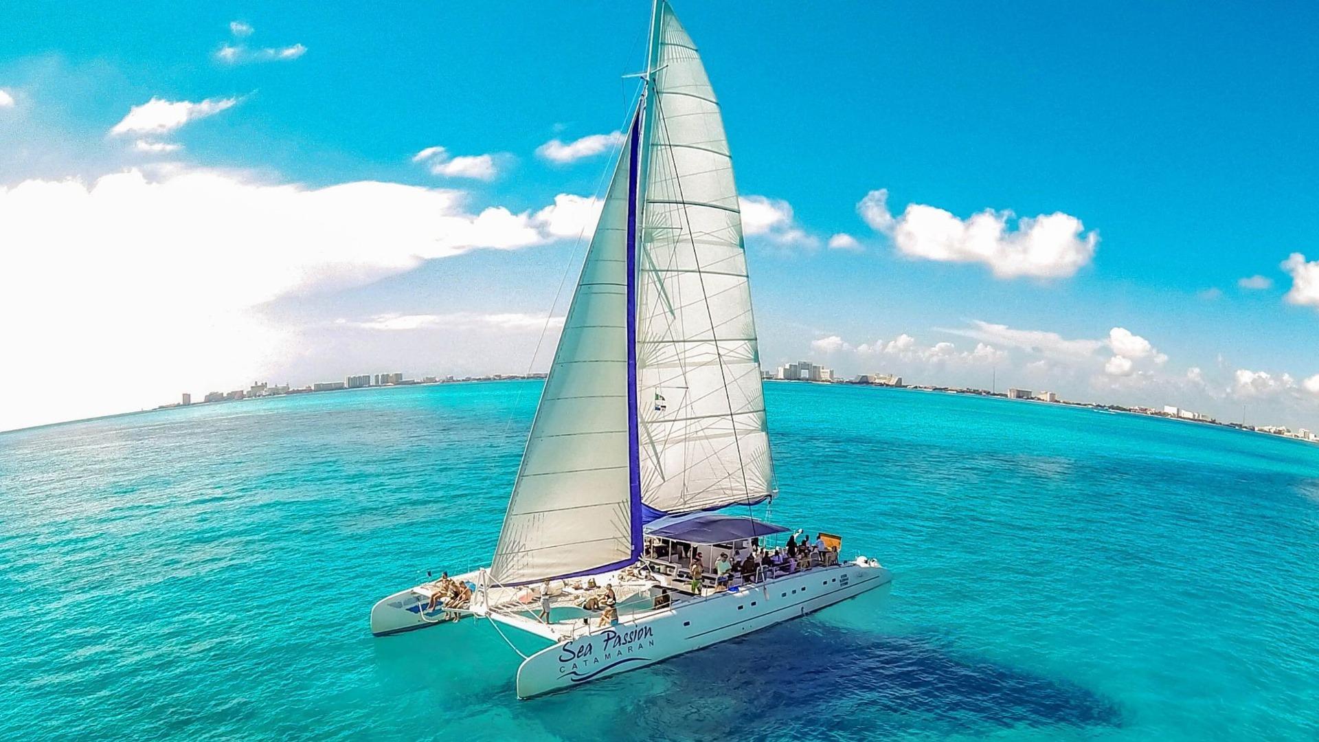 5 - LowRes - Private Isla Mujeres tour in catamaran - Sea Passion I II - Cancun Sailing