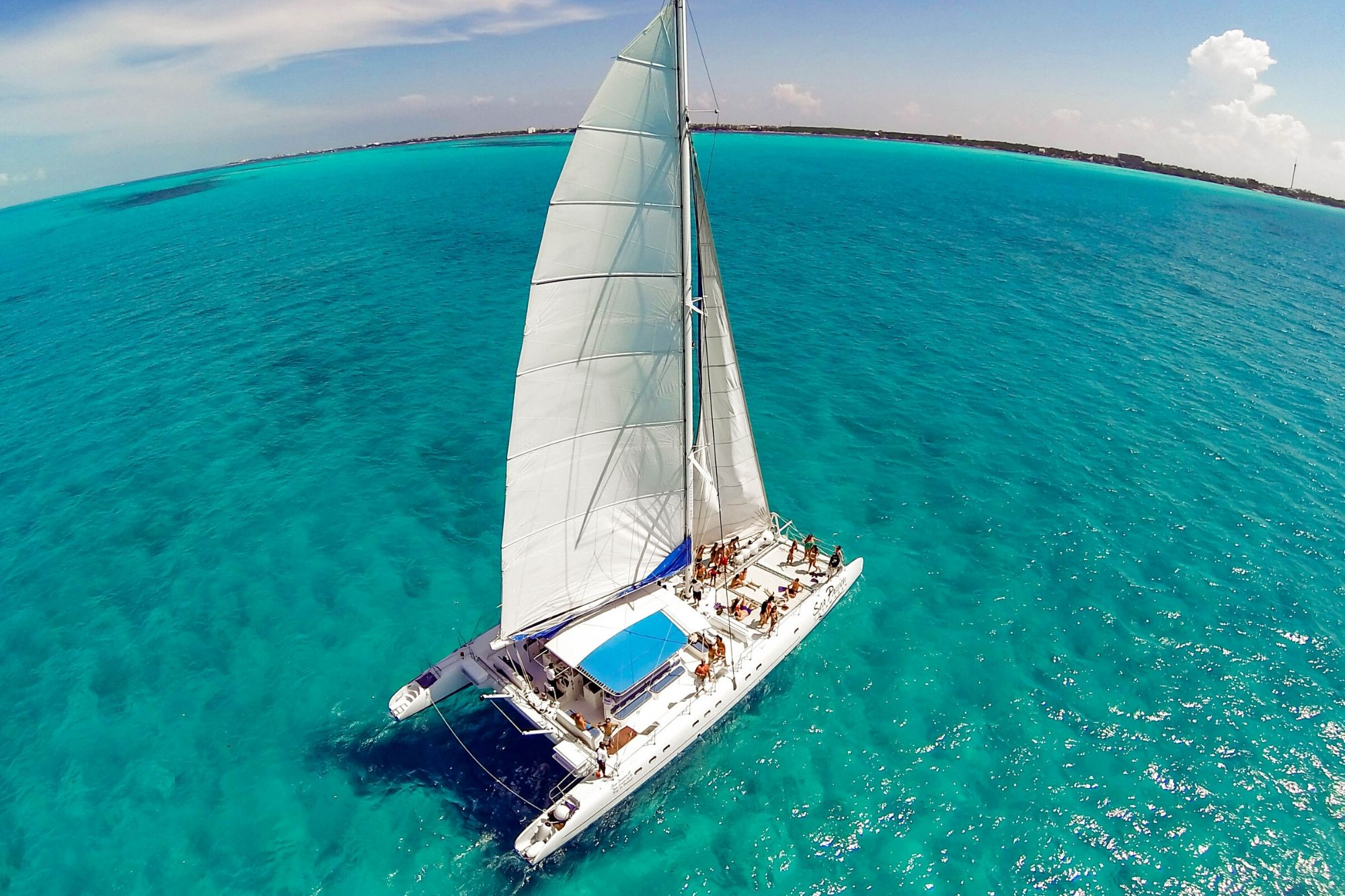 7 - HiRes - Private Isla Mujeres tour in catamaran - Sea Passion I II - Cancun Sailing