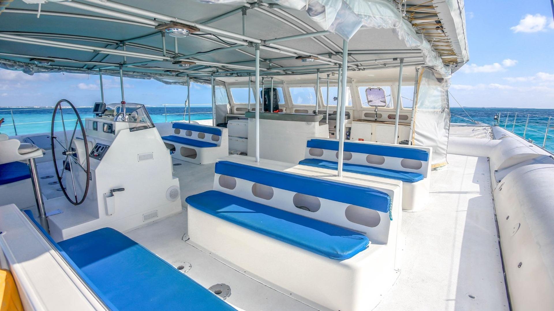 Sea Passion III - Isla Mujeres Catamaran Tour - Cancun Sailing