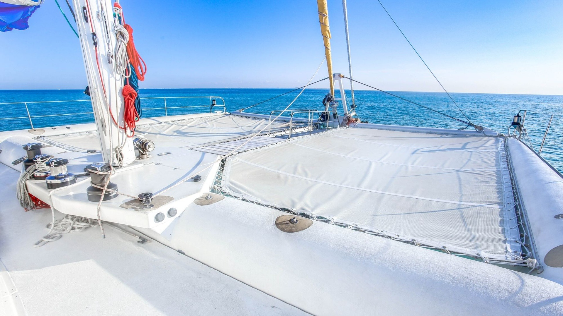 4 - LowRes - Sea Passion III - Isla Mujeres Catamaran Tour - Cancun Sailing