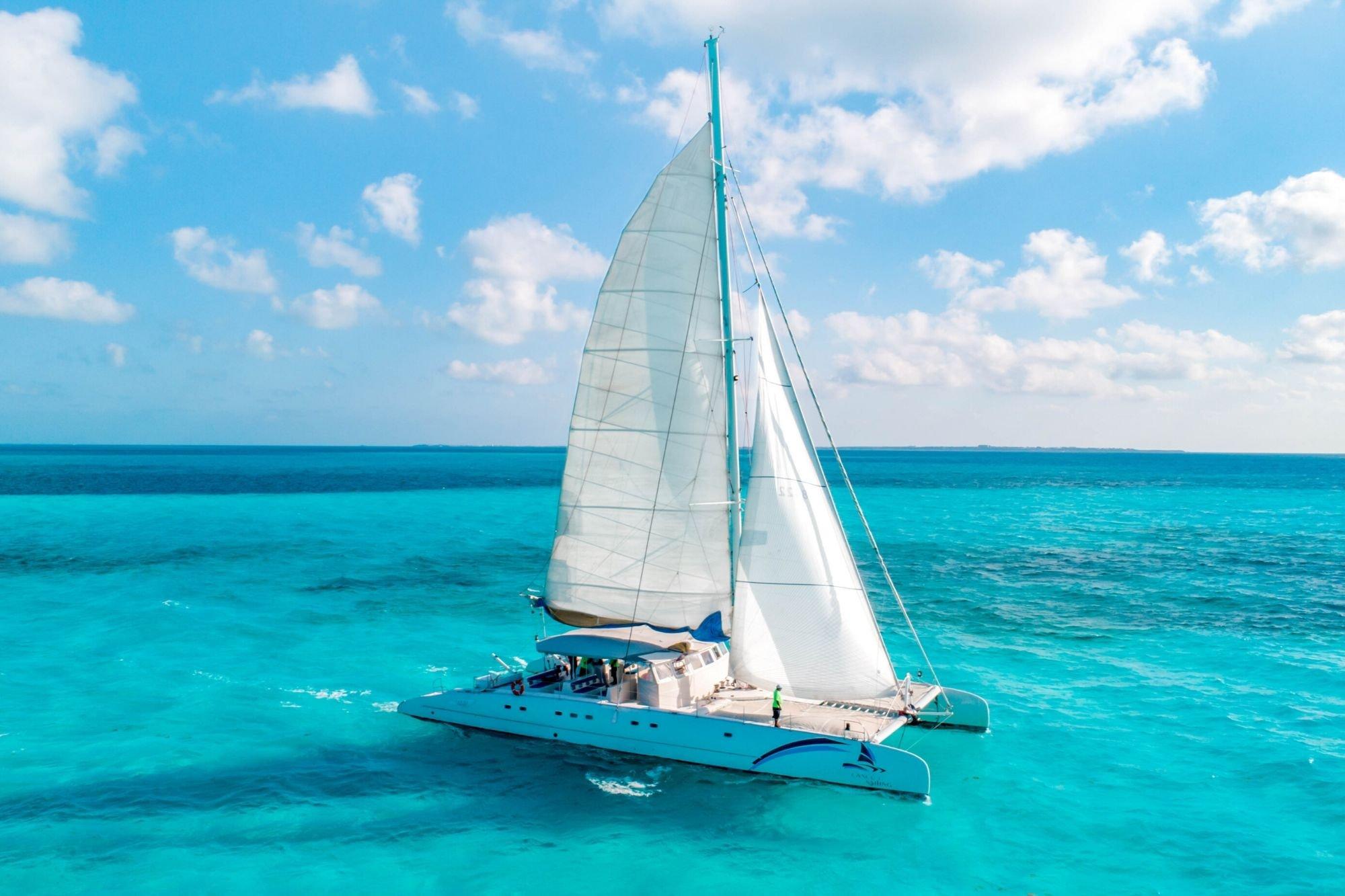 5 - HiRes - Sea Passion III - Isla Mujeres Catamaran Tour - Cancun Sailing