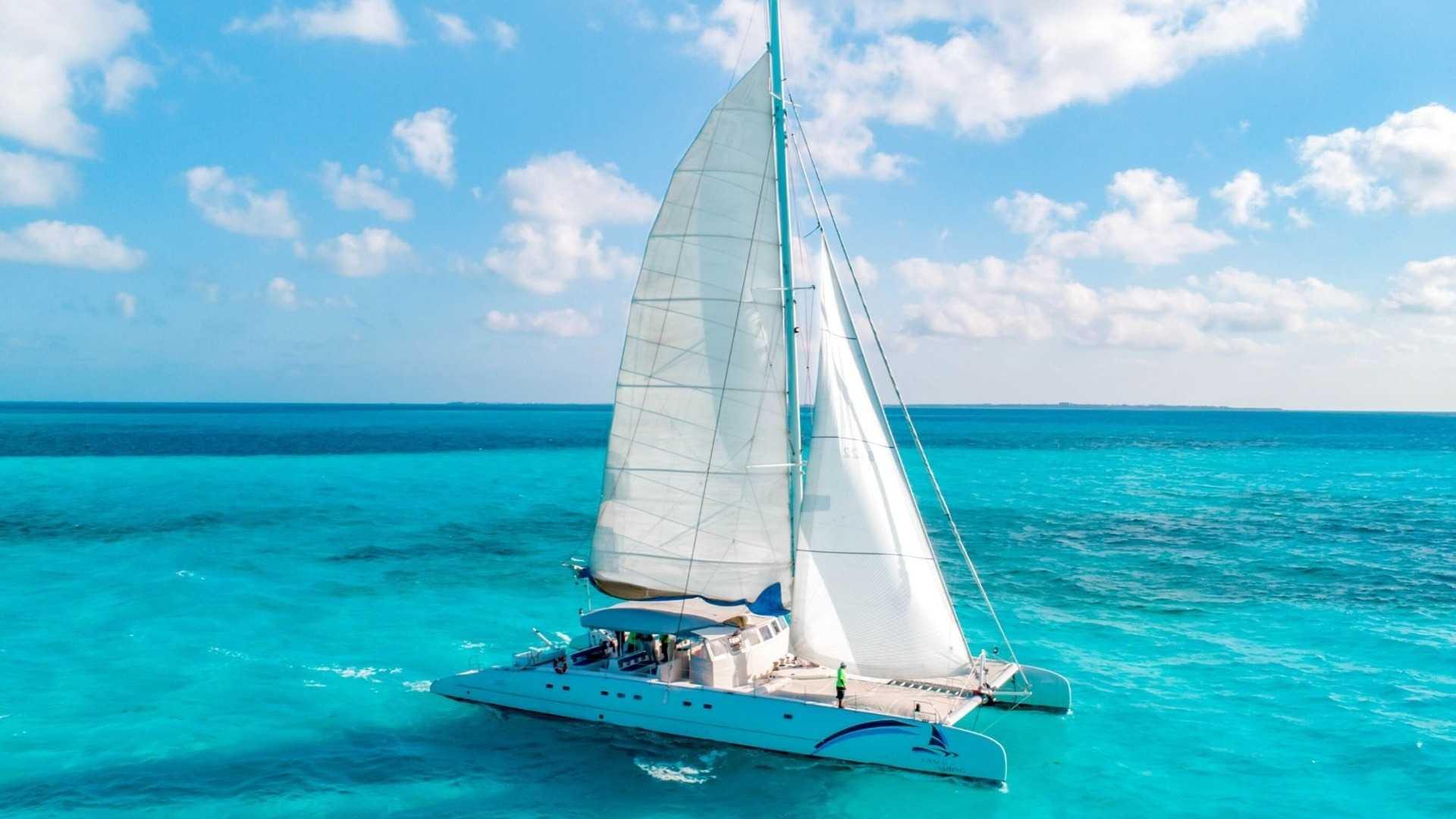 5 - LowRes - Sea Passion III - Isla Mujeres Catamaran Tour - Cancun Sailing