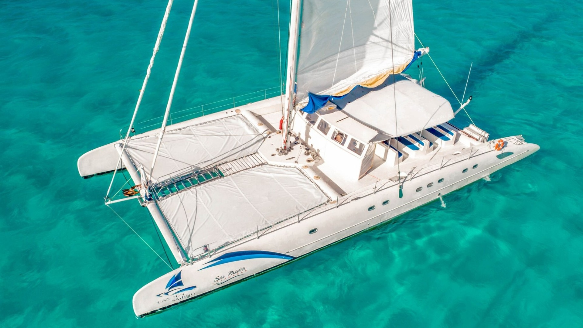 6 - LowRes - Sea Passion III - Isla Mujeres Catamaran Tour - Cancun Sailing