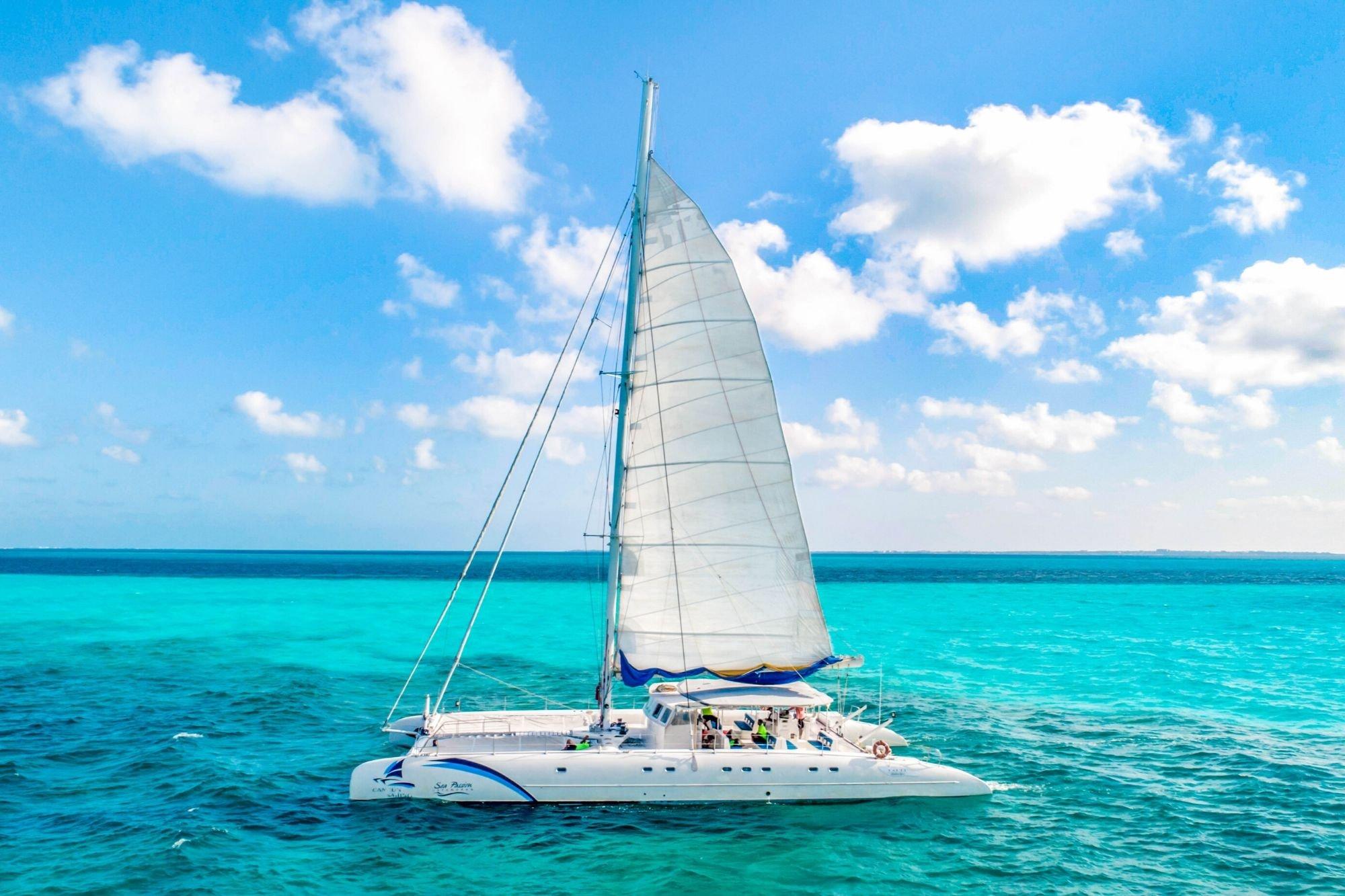 7 - HiRes - Sea Passion III - Isla Mujeres Catamaran Tour - Cancun Sailing