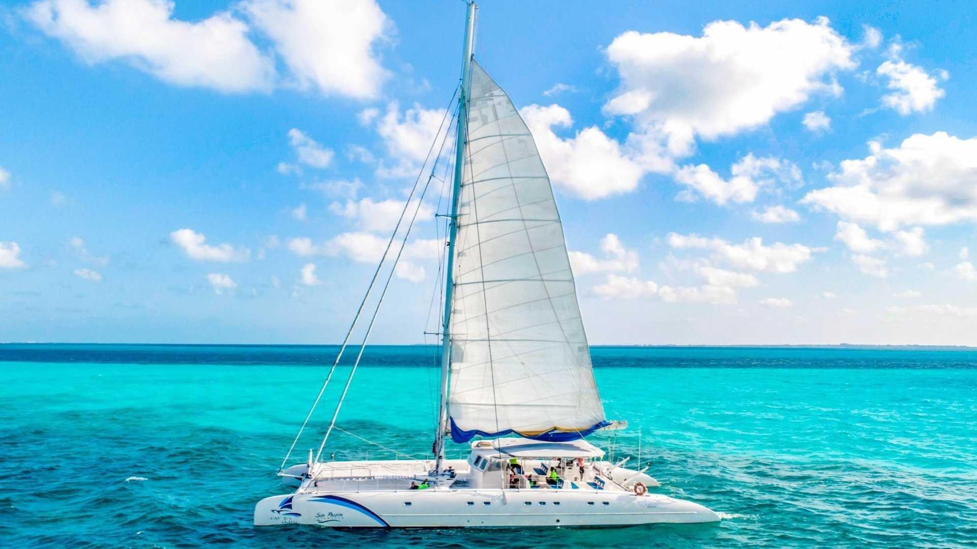 7 - LowRes - Sea Passion III - Isla Mujeres Catamaran Tour - Cancun Sailing