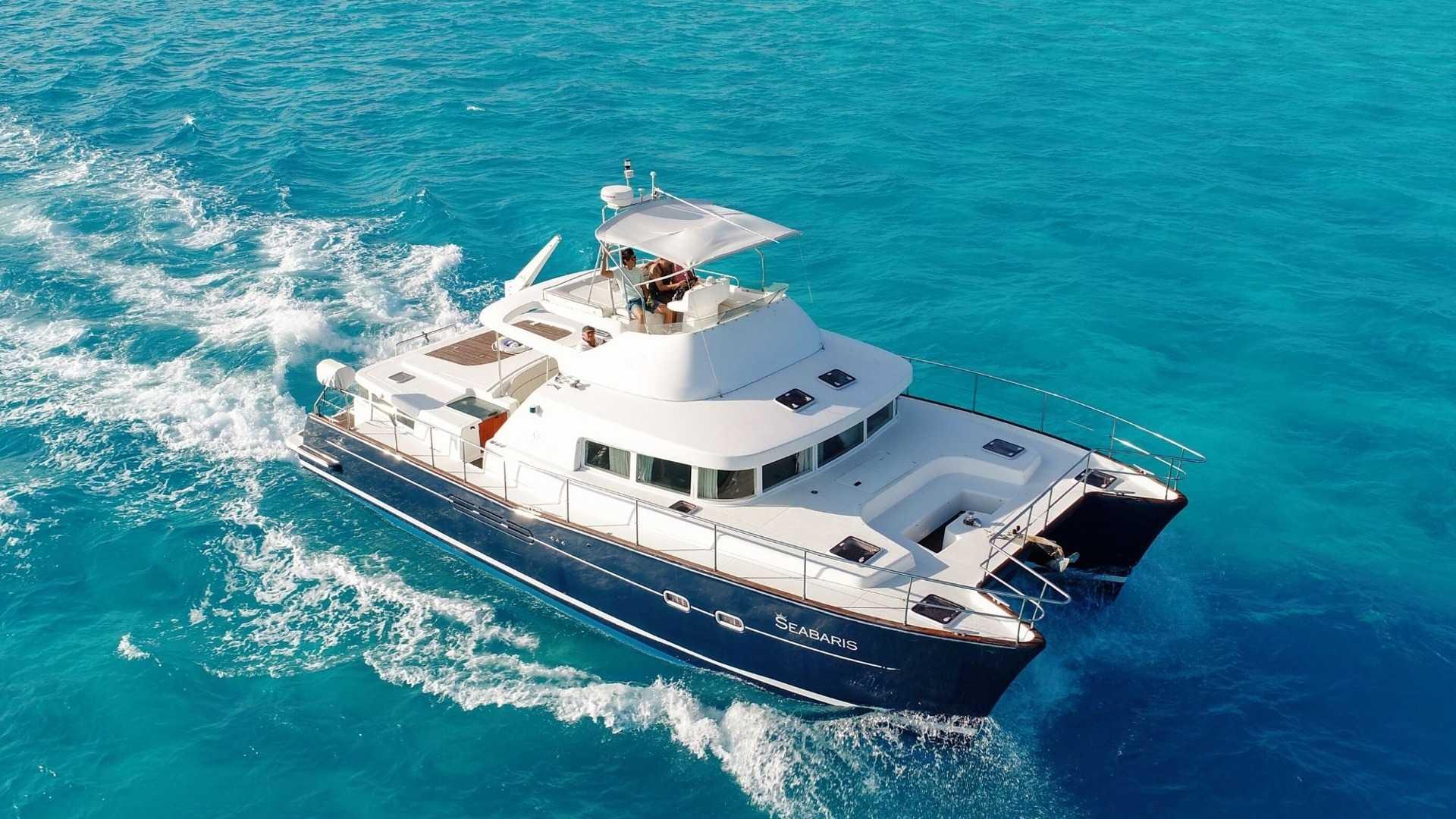 1 - LowRes - Private Isla Mujeres tour in catamaran - Seabaris - Cancun Sailing