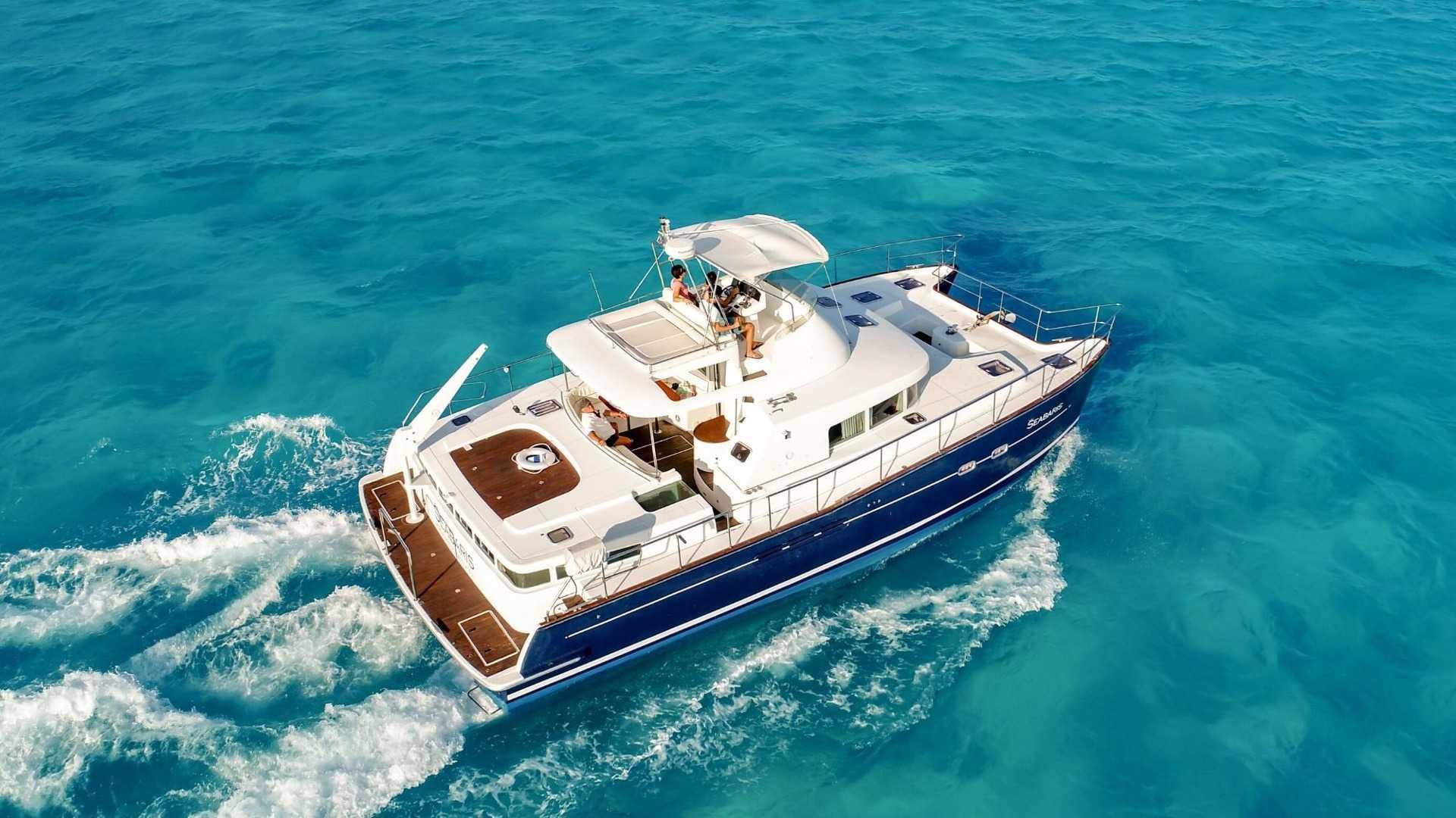 3 - LowRes - Private Isla Mujeres tour in catamaran - Seabaris - Cancun Sailing