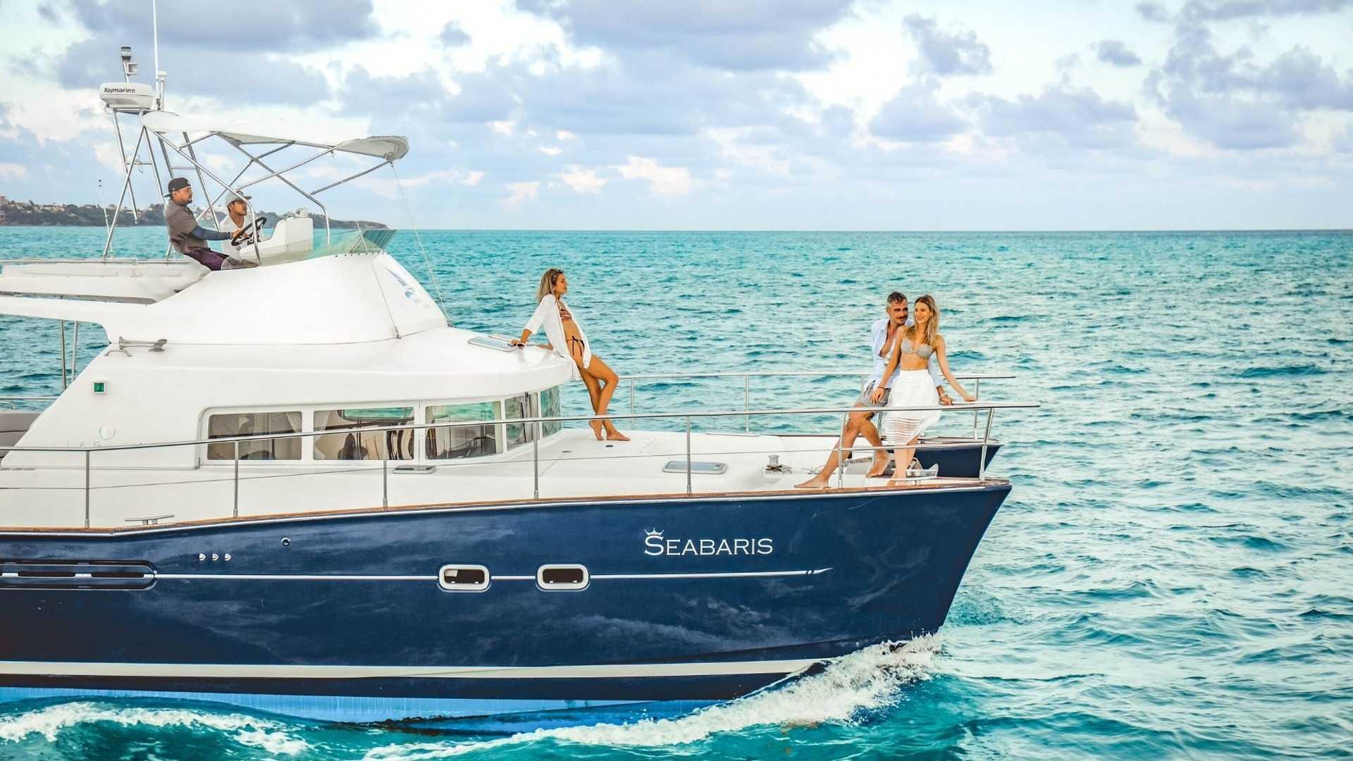 4 - LowRes - Private Isla Mujeres tour in catamaran - Seabaris - Cancun Sailing