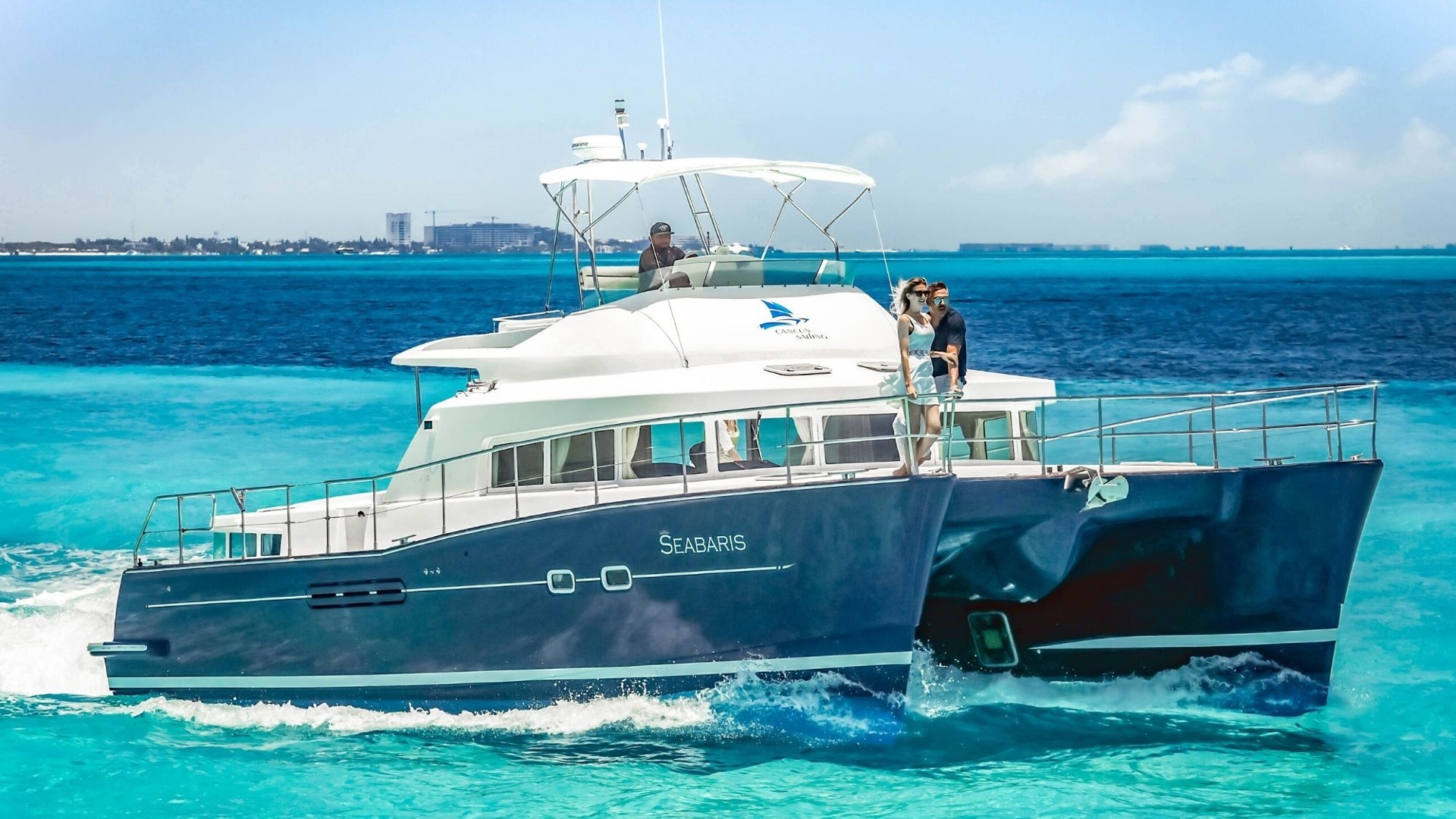 5 - LowRes - Private Isla Mujeres tour in catamaran - Seabaris - Cancun Sailing