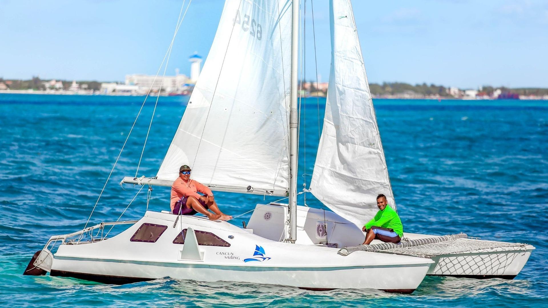 1 - LowRes - Private Isla Mujeres tour in catamaran - Seawind - Cancun Sailing