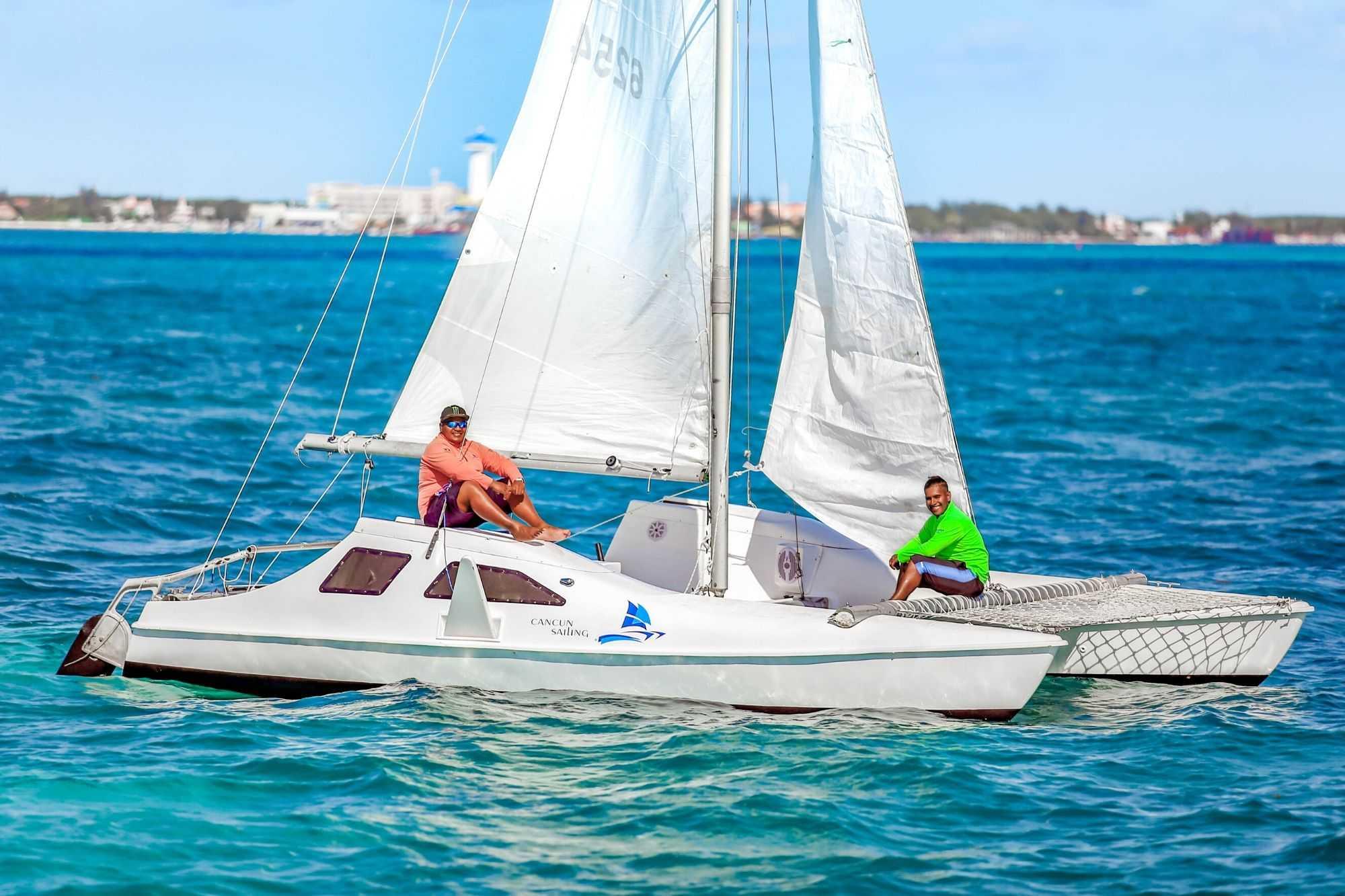 1 Private Isla Mujeres tour in catamaran - Seawind - Cancun Sailing