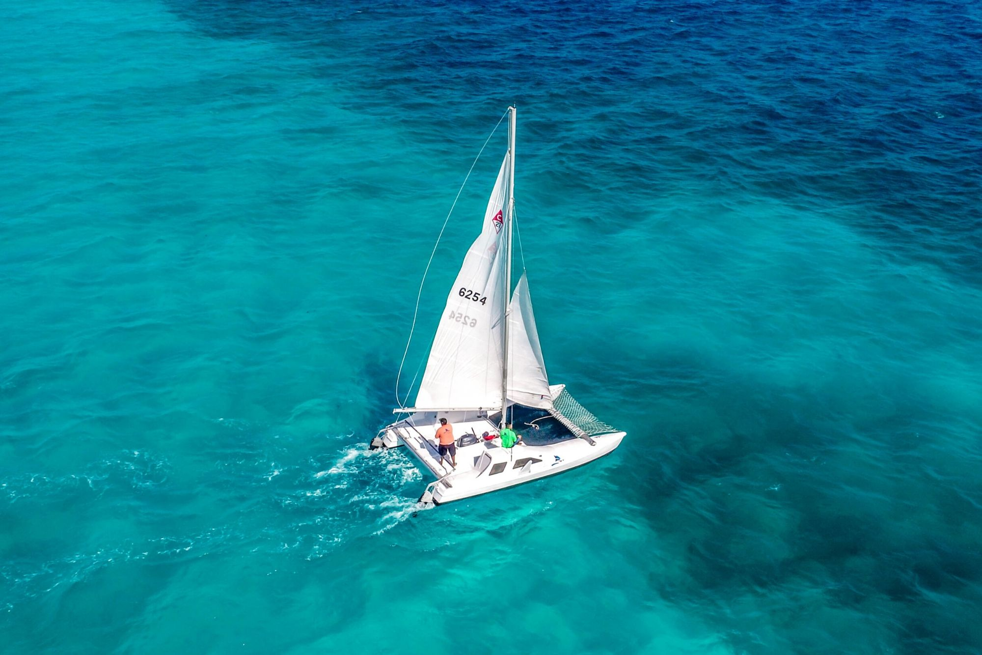 2 Private Isla Mujeres tour in catamaran - Seawind - Cancun Sailing