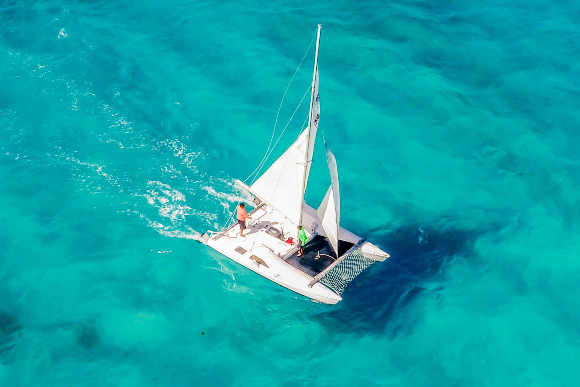 3 Private Isla Mujeres tour in catamaran - Seawind - Cancun Sailing