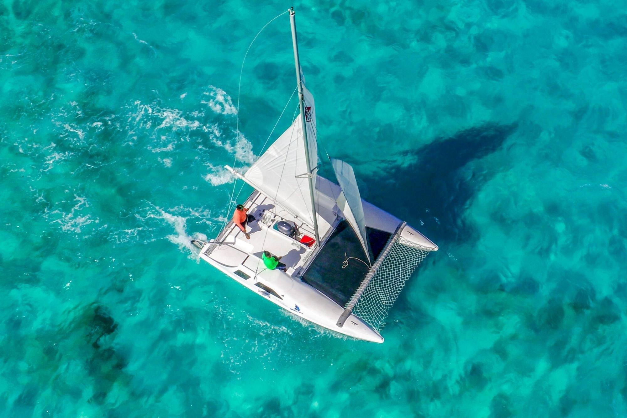 5 - HiRes - Private Isla Mujeres tour in catamaran - Seawind - Cancun Sailing