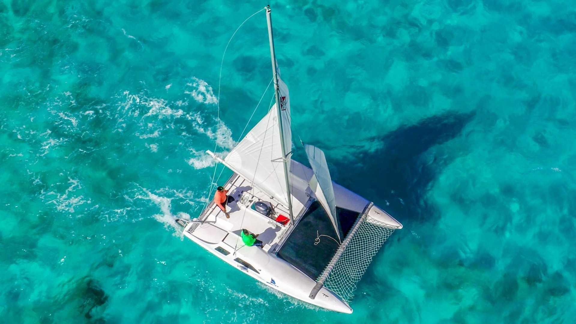 5 - LowRes - Private Isla Mujeres tour in catamaran - Seawind - Cancun Sailing