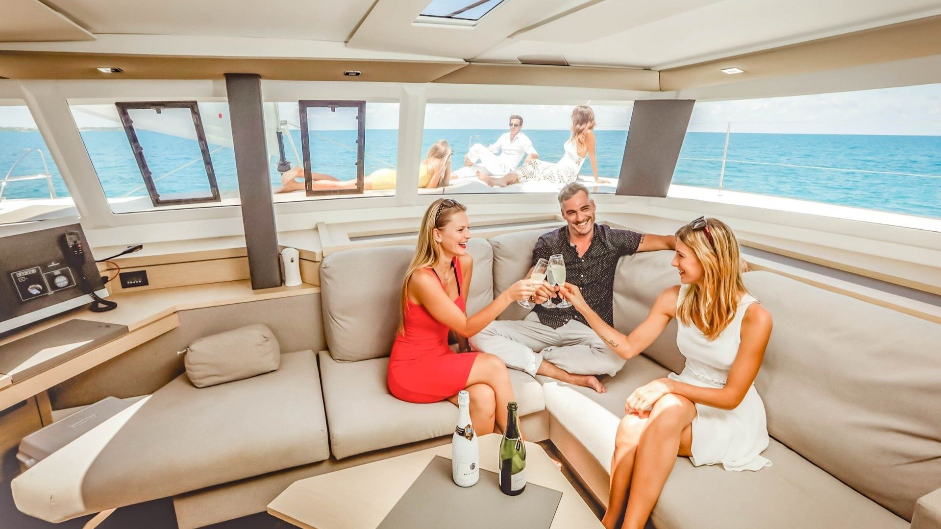 1 - LowRes - Private Isla Mujeres tour in catamaran - Victoria - Cancun Sailing