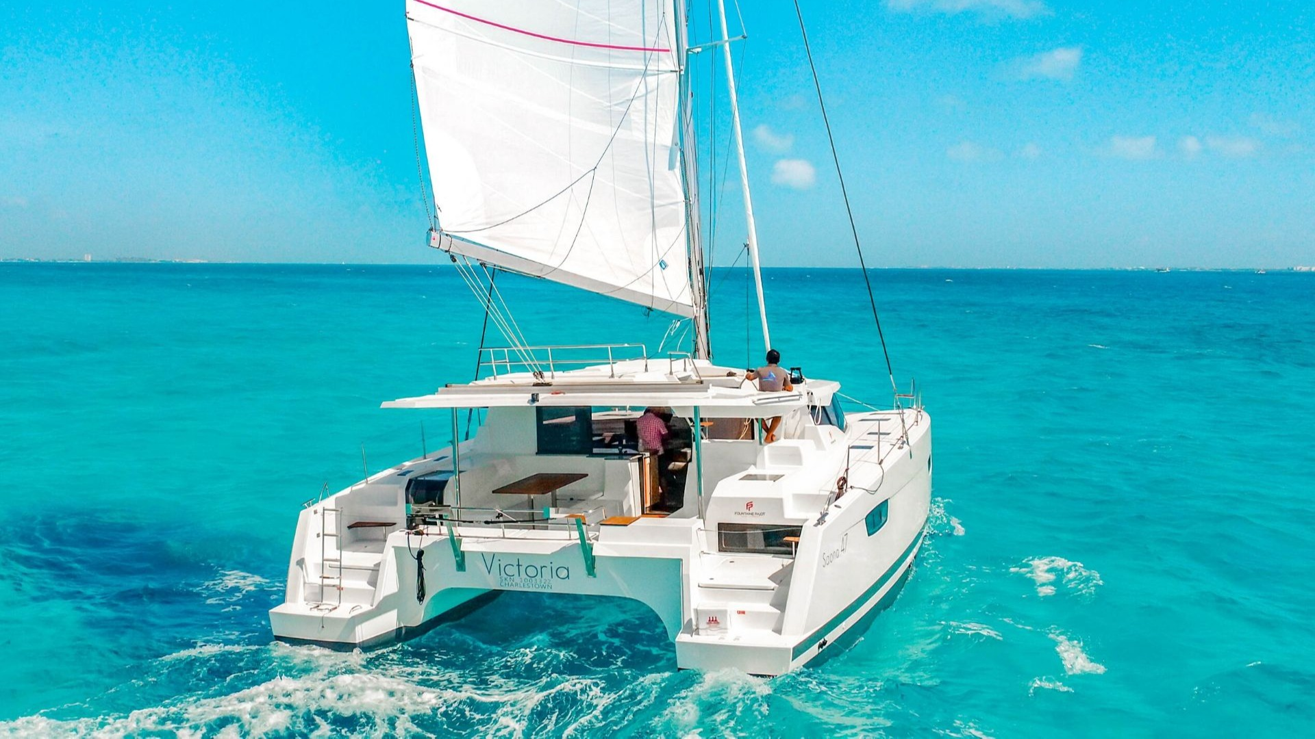 2 - LowRes - Private Isla Mujeres tour in catamaran - Victoria - Cancun Sailing