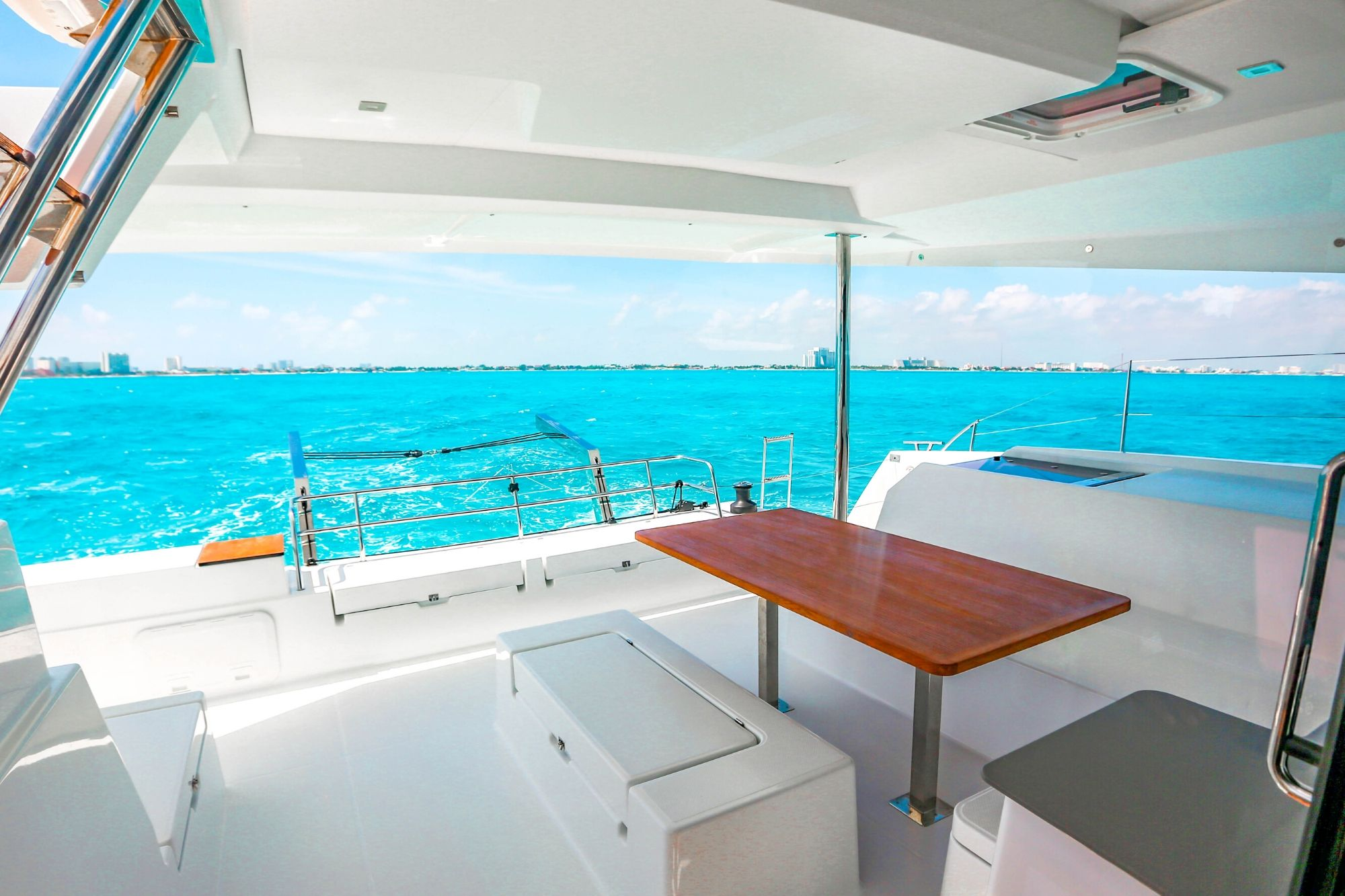 3 Private Isla Mujeres tour in catamaran - Victoria - Cancun Sailing