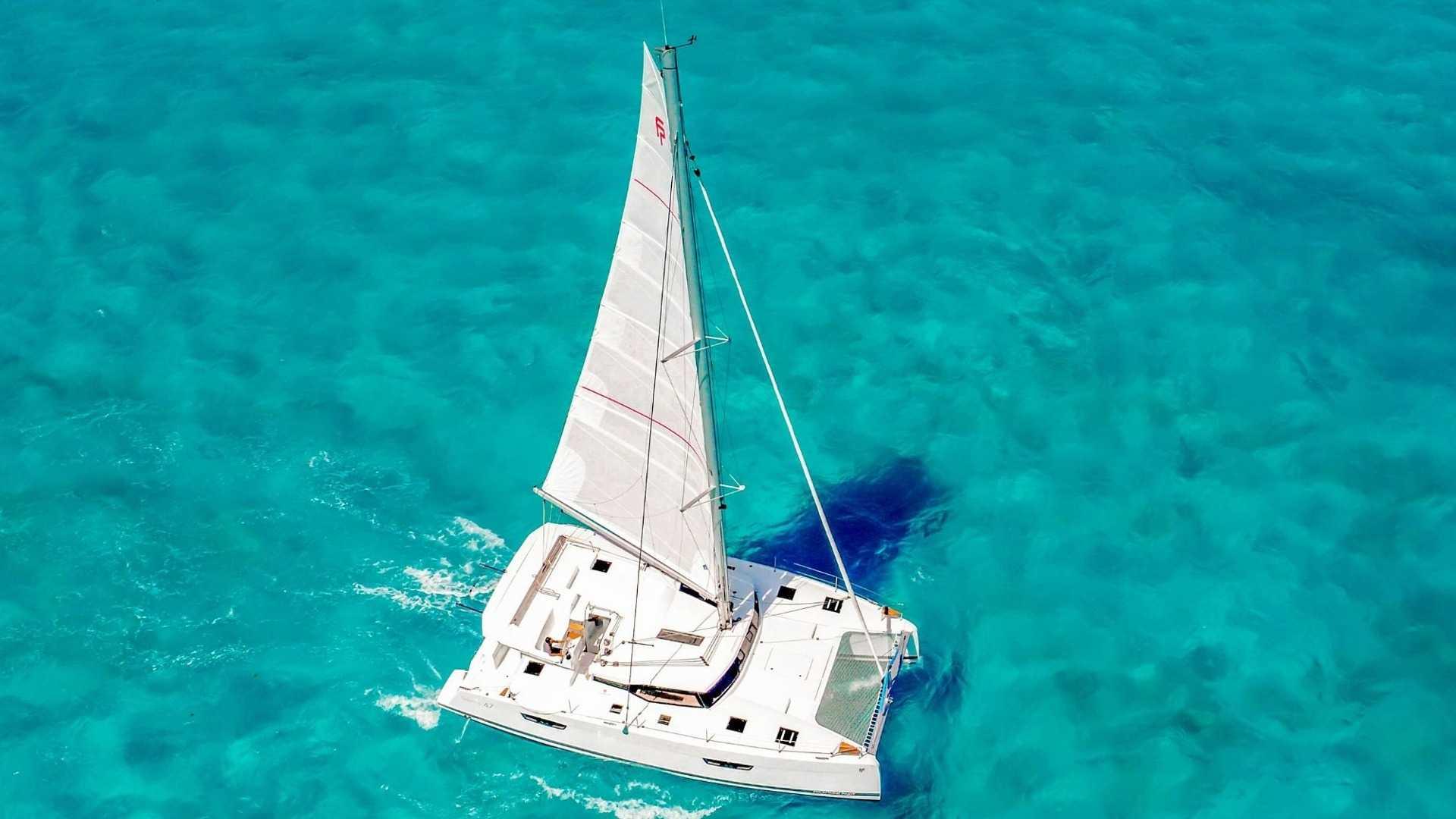5 - LowRes - Private Isla Mujeres tour in catamaran - Victoria - Cancun Sailing
