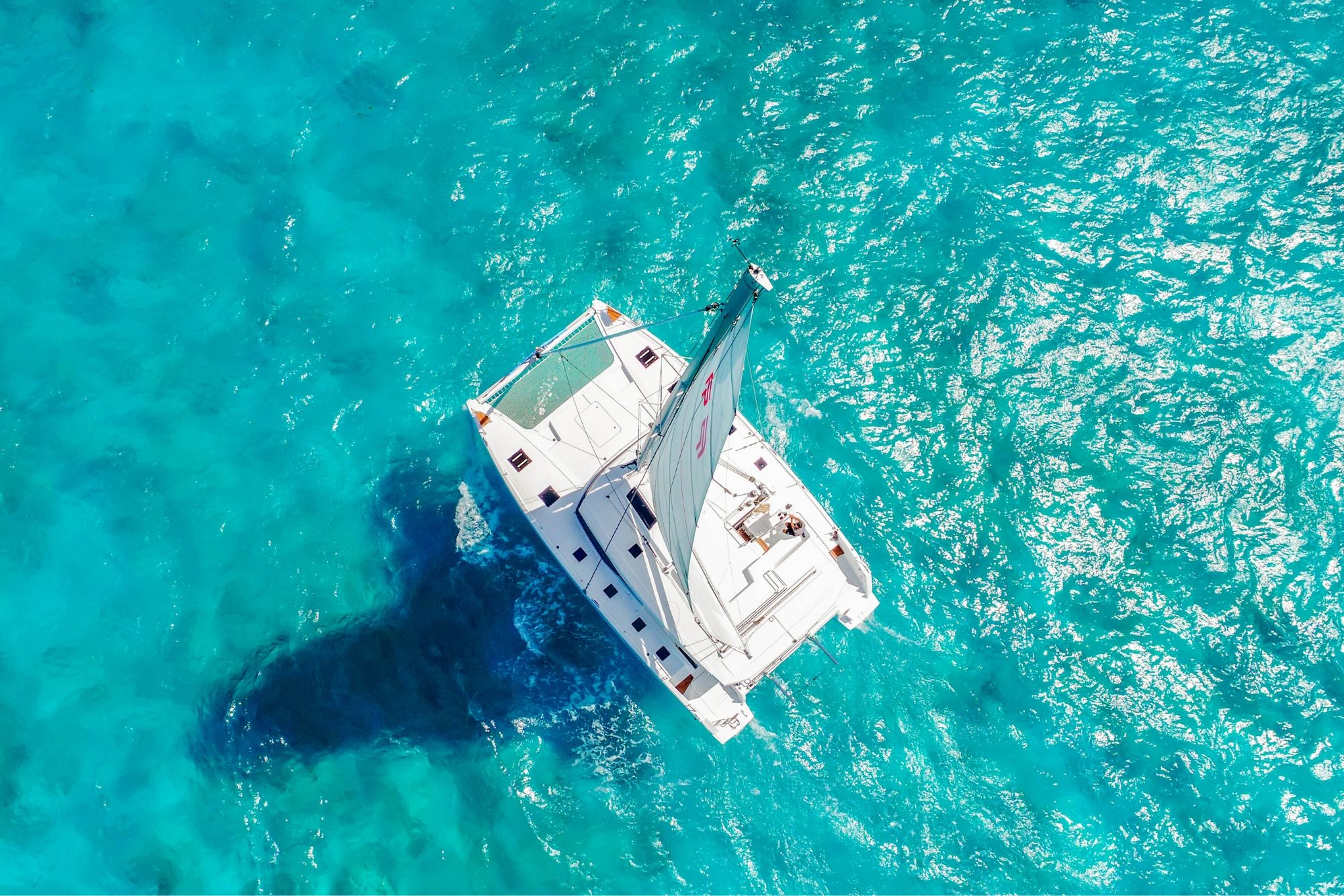 6 Private Isla Mujeres tour in catamaran - Victoria - Cancun Sailing
