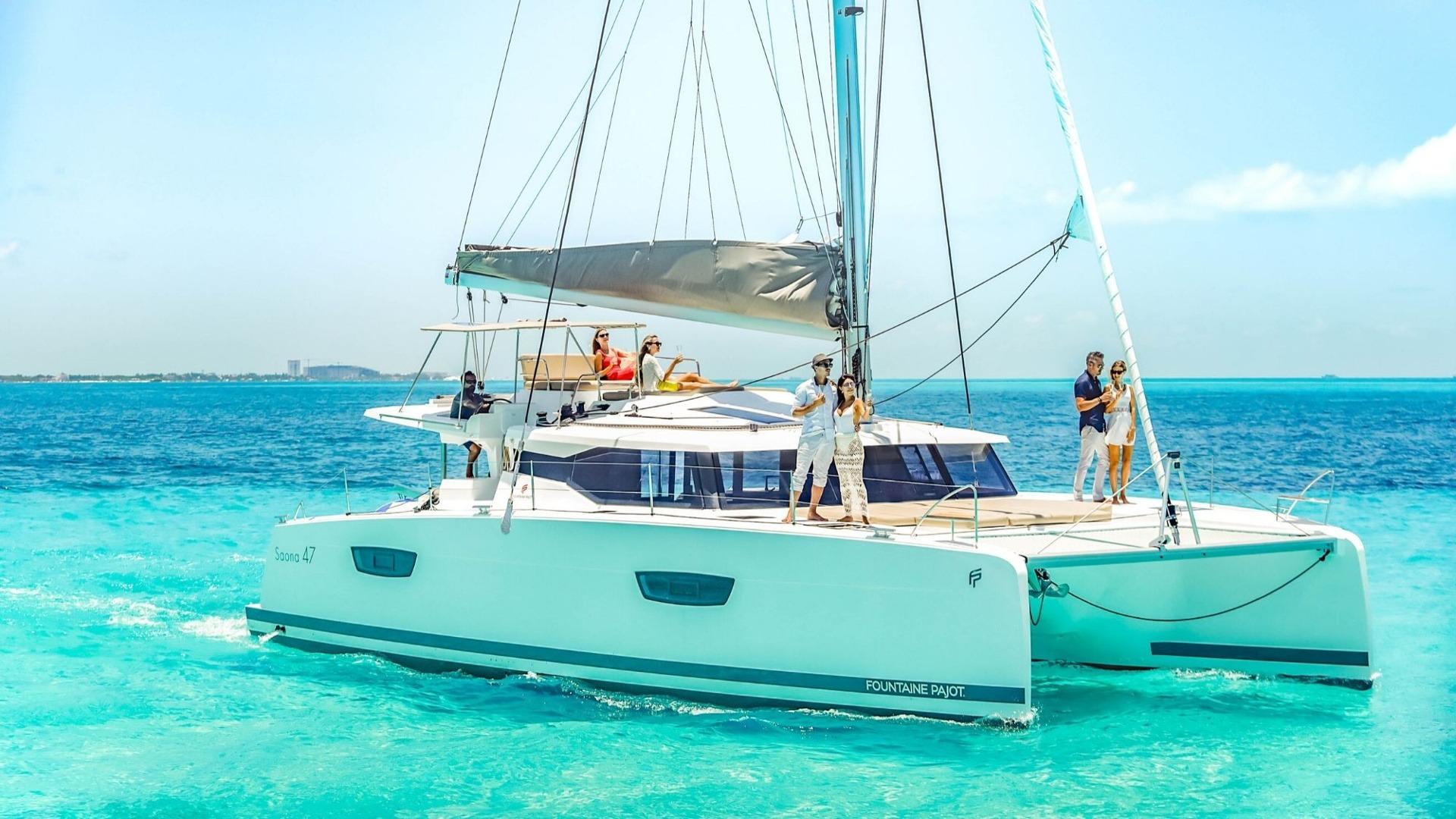 7 - LowRes - Private Isla Mujeres tour in catamaran - Victoria - Cancun Sailing