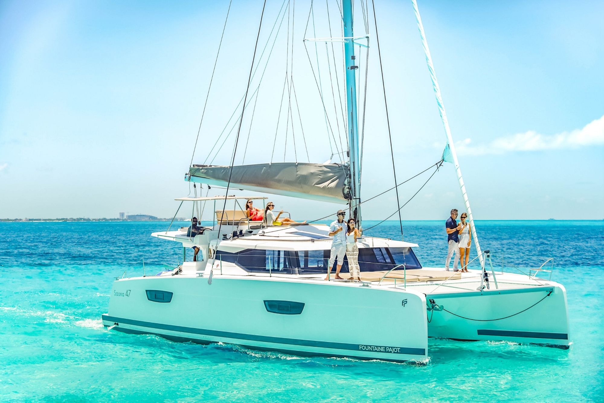 7 Private Isla Mujeres tour in catamaran - Victoria - Cancun Sailing