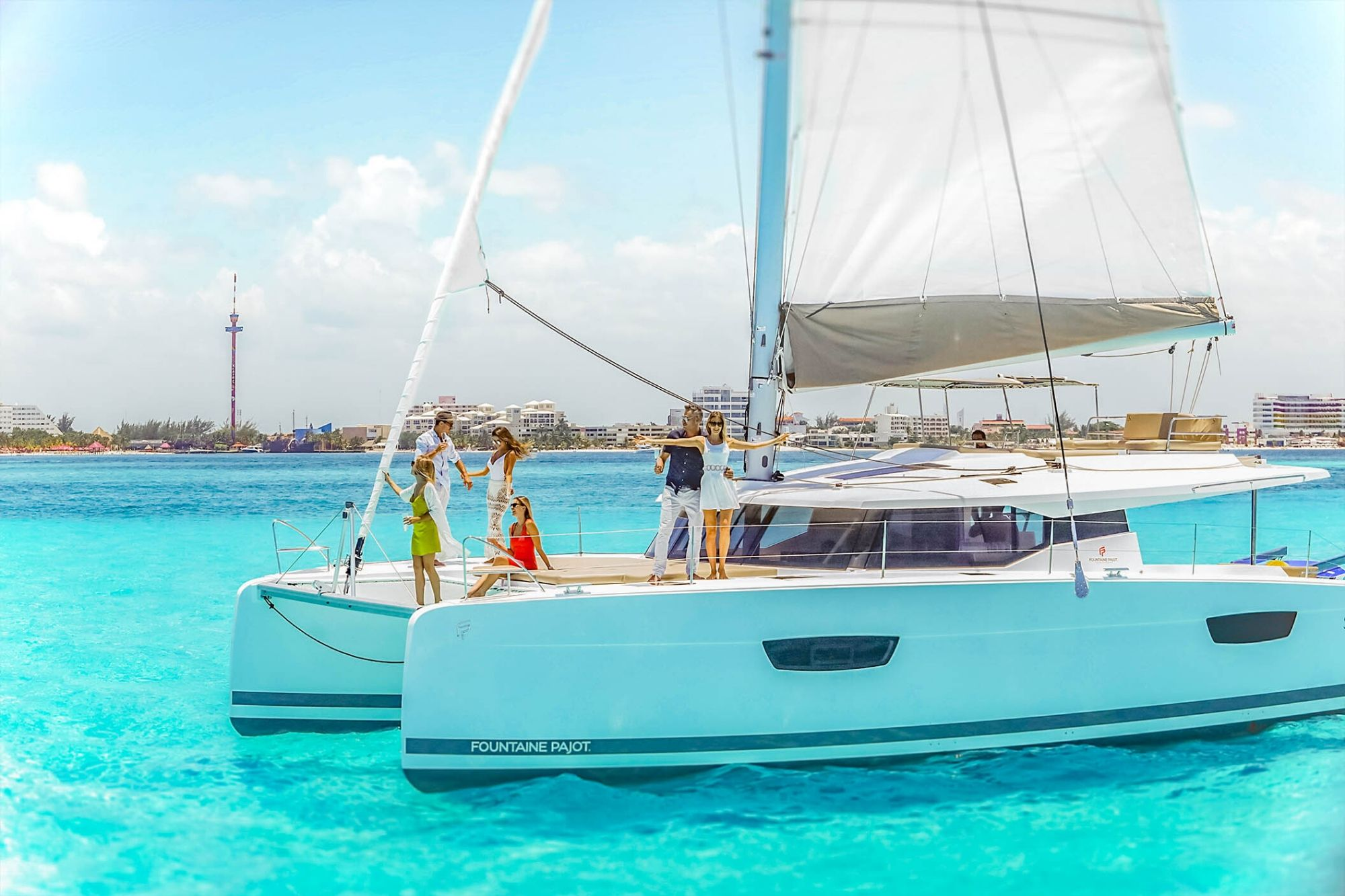 8 Private Isla Mujeres tour in catamaran - Victoria - Cancun Sailing