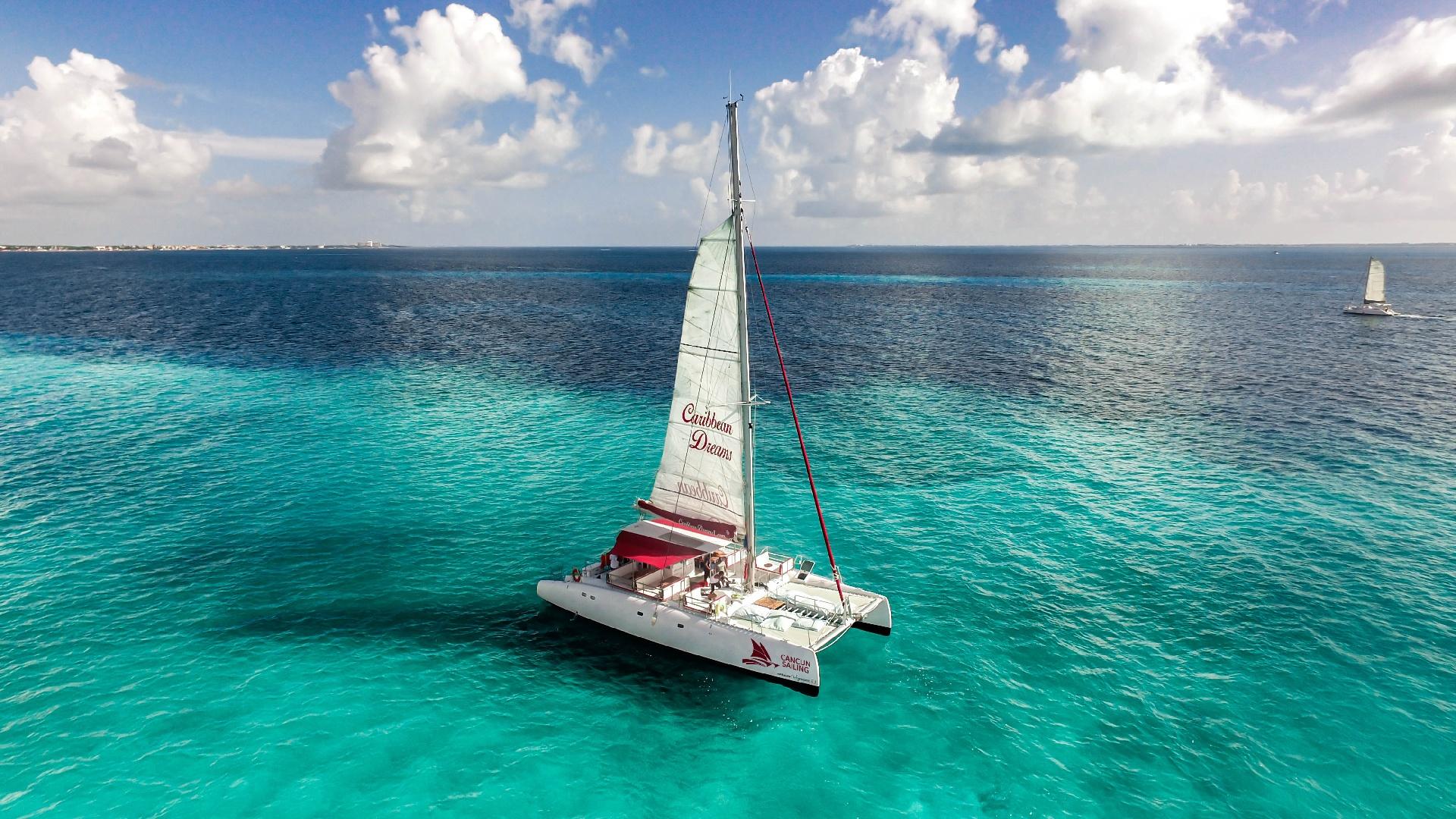 06 LoRes - Caribbean Dreams - Full Experience Isla Mujeres Tour - Cancun Sailing